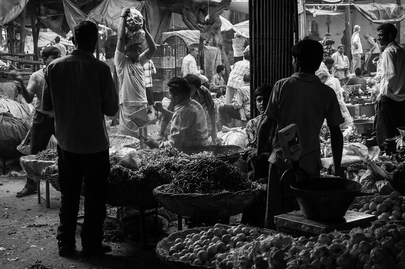 Market place, Mehrauli Village