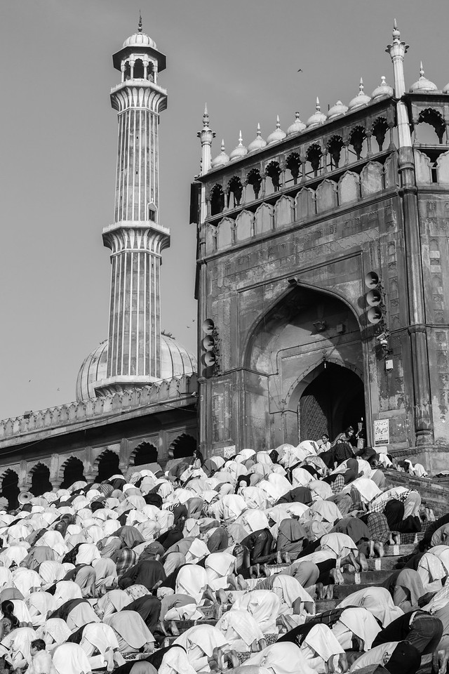 The steps of the Jama Masjid, Eid al-Adha