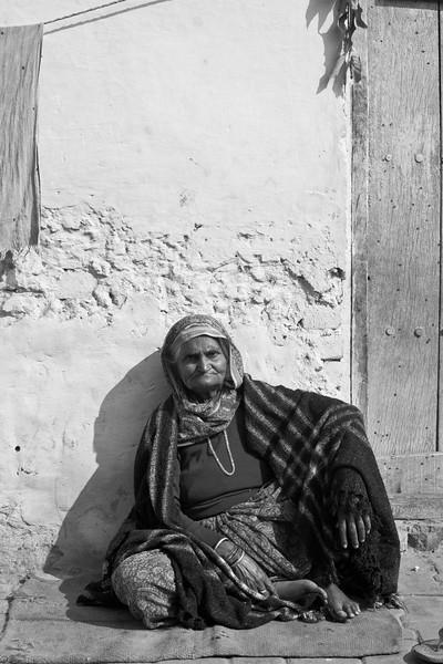 Local woman, Yamuna Bazar
