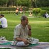 Day begins with yoga, Delhi, India