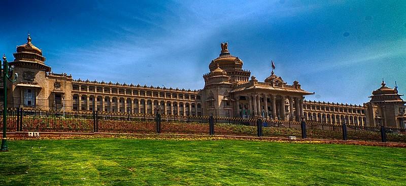 The Vidhana Soudha of Bangalore