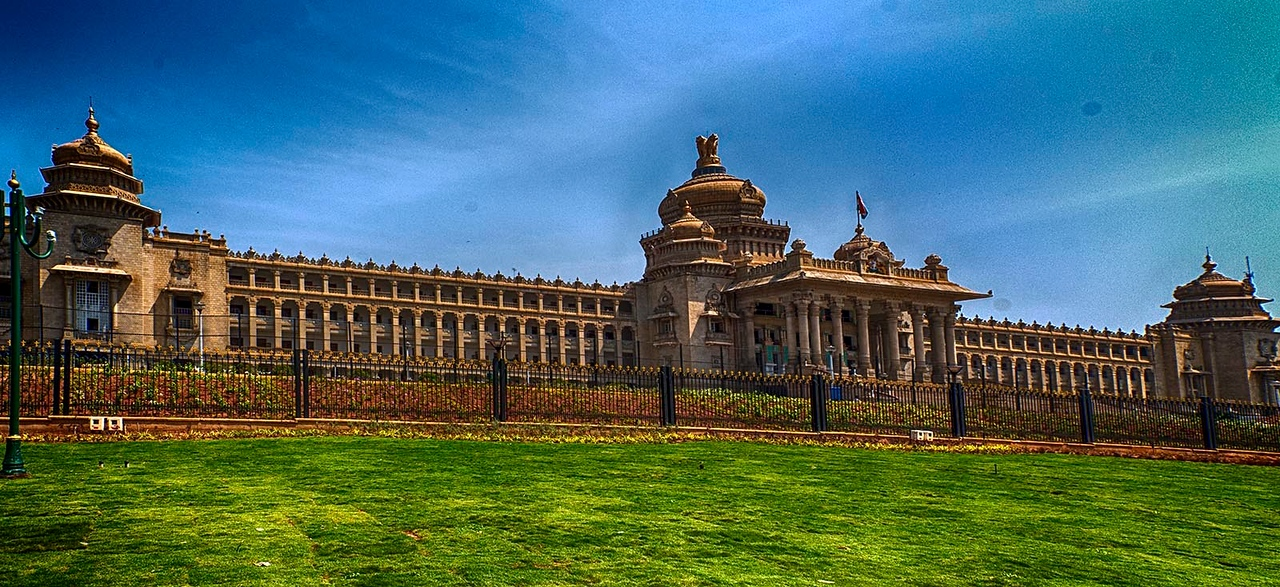 The Vidhana Soudha of Bangalore