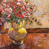 fl-15 Yellow Vase of Flowers