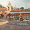 cm-14 Fountain at Carmel Mission