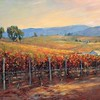 vi-15 Autumn Vineyard Scene
