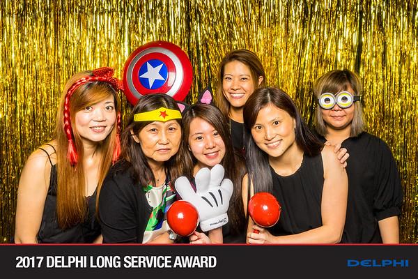 2017 Delphi Long Service Award