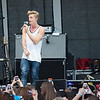 """Cody Simpson performs a song for fans after the """"Meet and Greet"""" Friday, August 30th at the Delta Fair. Cody Simpson"""