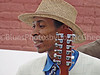 Street musician w/12string guitar King Biscuit Blues Festival Helena AR 2002