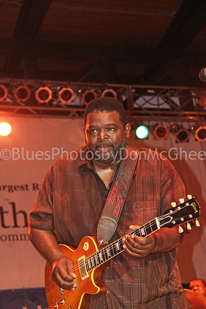 "Michael ""Iron Man"" Burks King Biscuit Blues Festival, Helena AR"