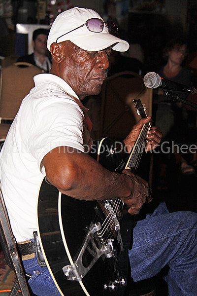 "Jimmy ""Duck"" Holmes owns the the Blue Front, in Bentonia, MS - one of the oldest Juke Joints still operating. Red's Juke Joint  Clarksdale MS 2009"