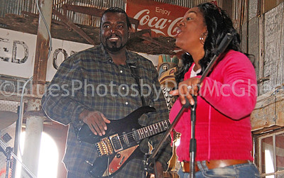 Keithen Ruff, DieDra Ruff  Deidra and the Ruff Pro Band Hopson Plantation Clarksdale MS
