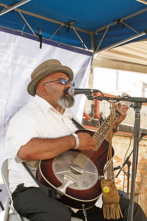 "Austin ""Walkin' Cane"" King Biscuit Blues Festival 2012"