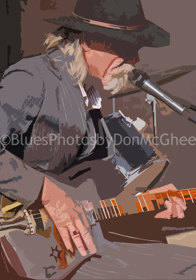 Ronald Robbins<br /> Rock & Blues Museum (front), Clarksdale MS 2012