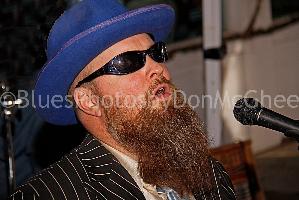 "Sean ""Bad"" Apple<br /> All Night Long Blues Band<br /> Cathead Mini Blues Fest<br /> Clarksdale MS 2012"