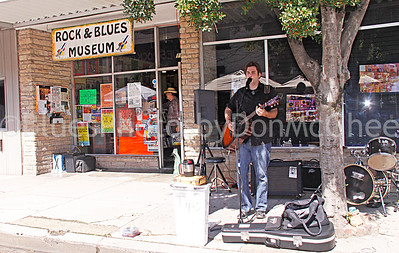 "Richard ""Daddy Rich"" Crisman Rock & Blues Museum (front), Clarksdale MS 2012"