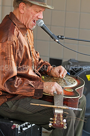 "Bill ""Watermelon Slim"" Homans King Biscuit Blues Festival 2012"