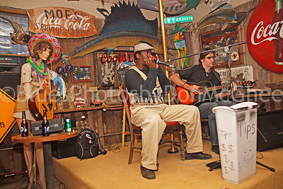 "Terry ""Harmonica"" Bean, Richard ""Daddy Rich"" Crisman Hopson Plantation - Commissary Clarksdale MS 2012"