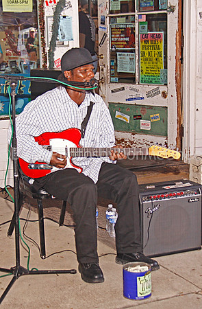 "Anthony ""Big A"" Sherrod Rock & Blues Museum (front), Clarksdale MS 2012"