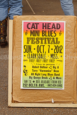 Cat Head Mini Blues Fest, Clarksdale MS 2012