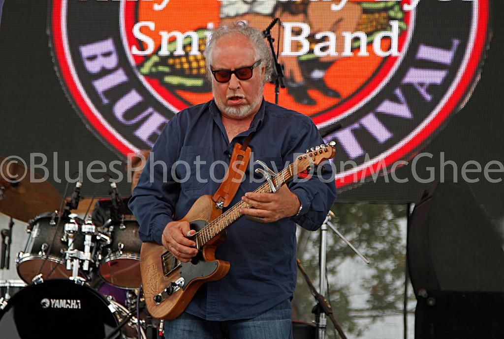"""Steady Rollin"" Bob Margolin<br /> King Biscuit Blues Fest 2014 Helena AR"
