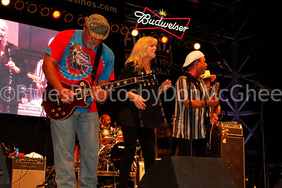 Ricky Chancey, Donna Hall Foster, Ric Seymour - Wet Willie King Biscuit Blues Fest 2014 Helena AR