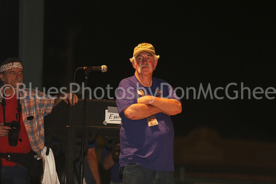 Bubba Sullivan - KBBF founder King Biscuit Blues Fest 2014 Helena AR