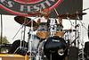 drummer - Toronzo Cannon Blues Band<br /> King Biscuit Blues Fest 2014 Helena AR