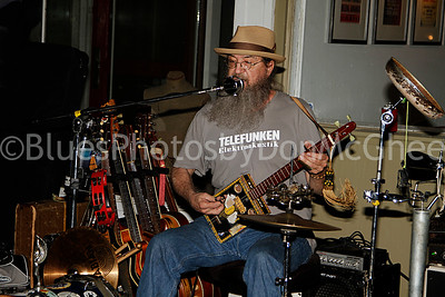Bob Lewis - Tyrannosaurus Chicken King Biscuit Blues Fest 2014 Helena AR