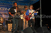 """Marquis Knox band, with Matt """"The Rattlesnake"""" Lesch<br /> King Biscuit Blues Fest 2014 Helena AR"""