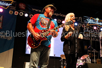 Ricky Chancey, Donna Hall Foster - Wet Willie King Biscuit Blues Fest 2014 Helena AR
