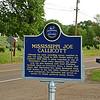 Mississippi Joe Callicott<br /> Mississippi Blues Trail Marker #103<br /> Nesbit MS