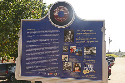 Bo Diddley Mississippi Blues Trail Marker #23 [back] McComb MS