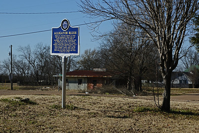 Alligator Blues Mississippi Blues Trails Marker #166 Alligator MS