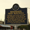 Mississippi Fred McDowell<br /> Mississippi Blues Trail Marker #71<br /> Como MS
