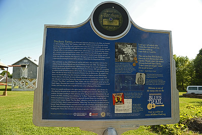 Birthplace of the Blues Mississippi Blues Trail Marker #37 [back] (Dockery Plantation) Cleveland MS