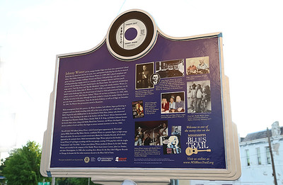 MS Blues Trail Marker #109 - Johnny Winter