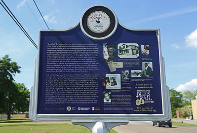Chrisman Street Mississippi Blues Trail Marker #78 [back] Cleveland MS