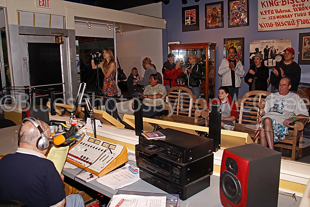"""Sunshine"" Sonny Payne & studio audience"