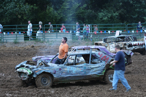 2012 Delta Fair - Demolition Derby