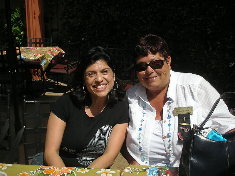 Dora Jacilldo and Suzanne Fraser