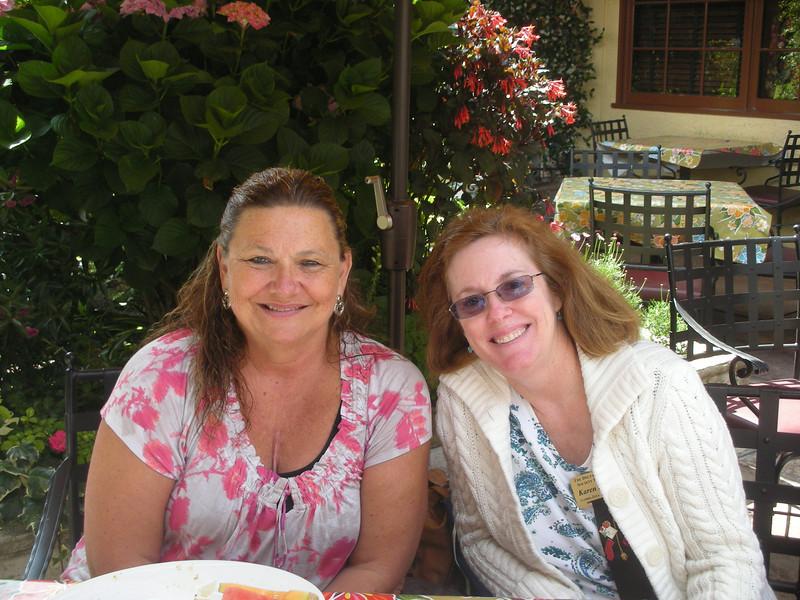 Marsha Gastelum and Karen Bowen