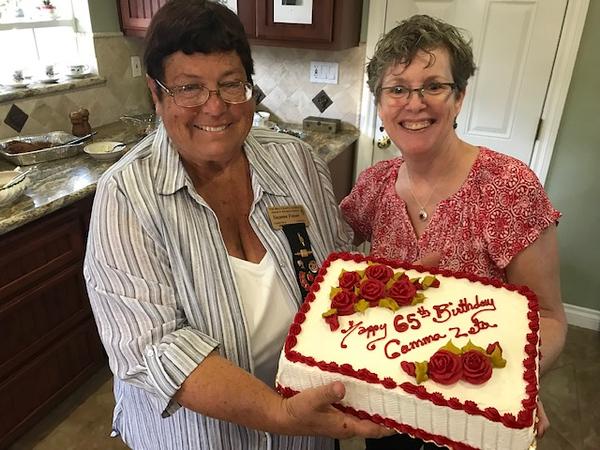Gamma Zeta celebrates its 65th birthday.