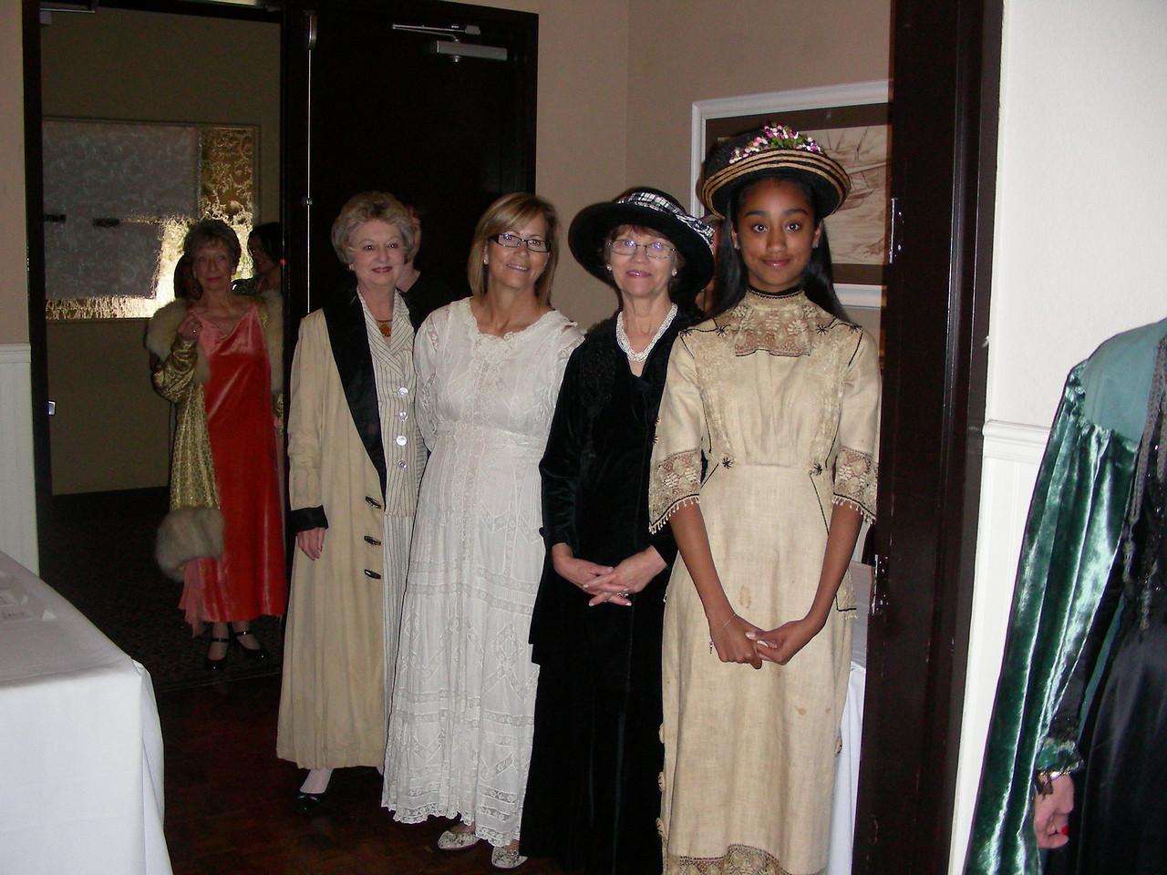 Irene Lonergan/ Area XII Vintage Fashion Show