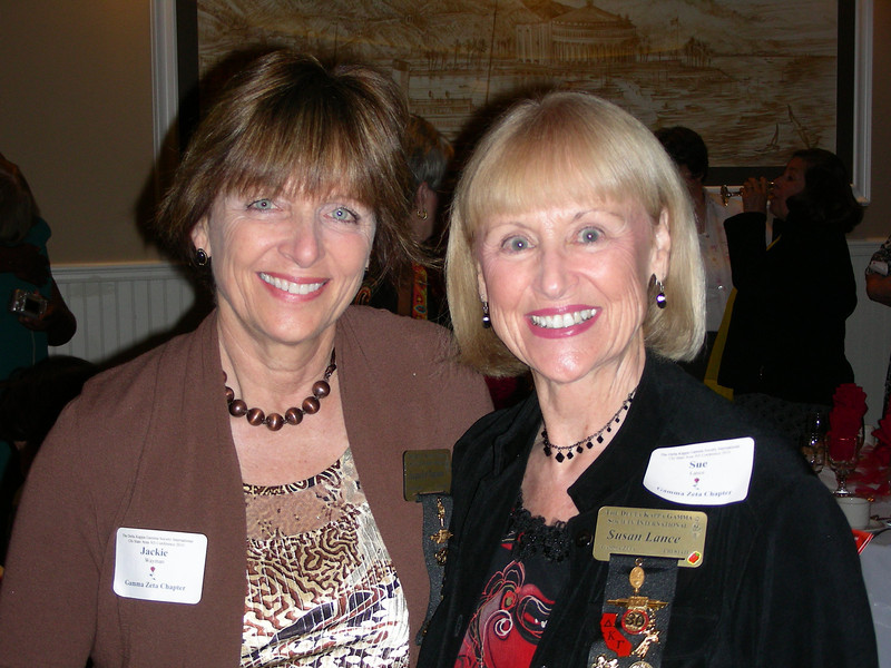 Jackie Wayman and Susan Lance @ Installation of New Officers Long Beach
