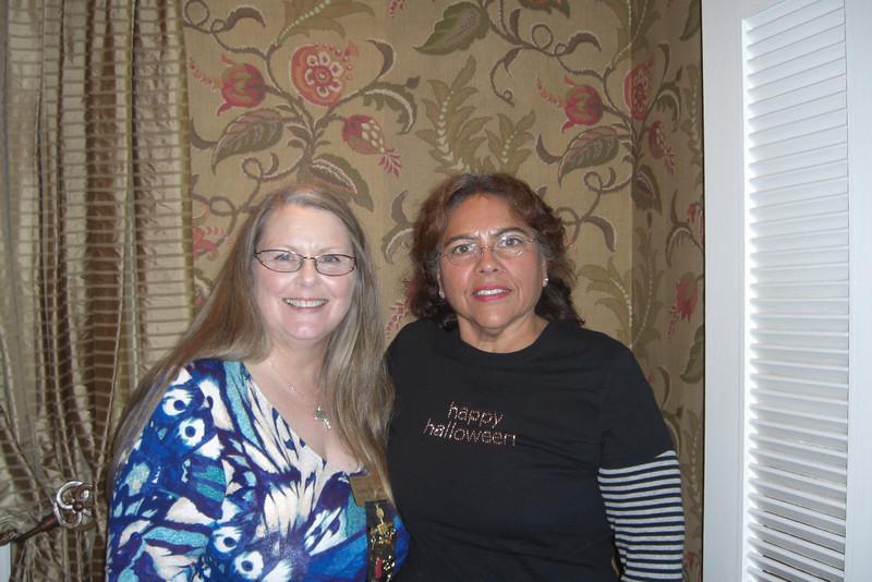 Co-Presidents Linda Norman and Angela Loya