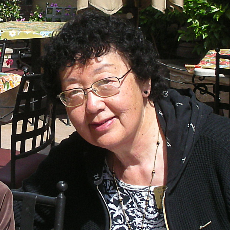 Sumie Imada and her mom, June Breakfast at Hoff's Hut