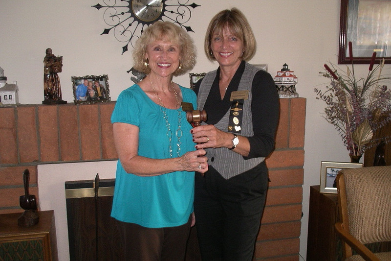Co-Presidents Susan Lance and Jackie Wayman