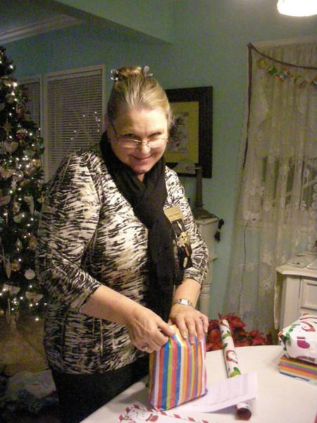Linda Norman, co-president Gamma Zeta