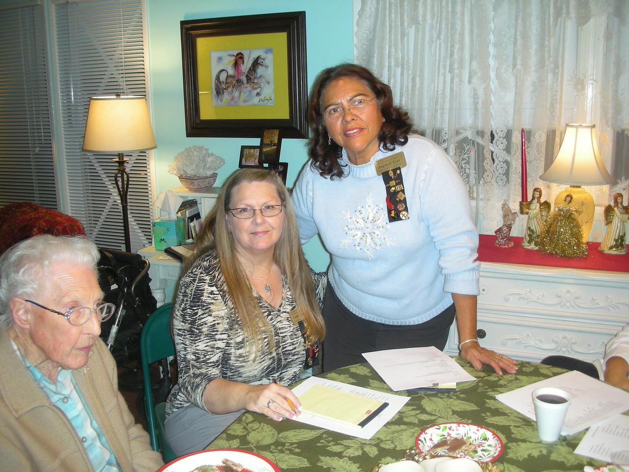 Mary Lash, Linda Norman, Angela Loya