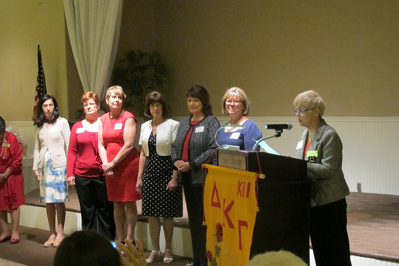 Area XII Installation of Officers